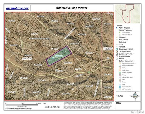 11.23 ACRES E Prosepct Drive, Kingman, AZ 86401 (MLS #981847) :: AZ Properties Team | RE/MAX Preferred Professionals