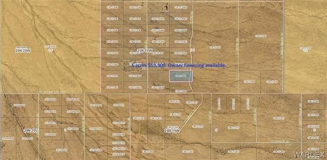 Lot 117 N Bee Drive, Dolan Springs, AZ 86441 (MLS #981909) :: The Lander Team