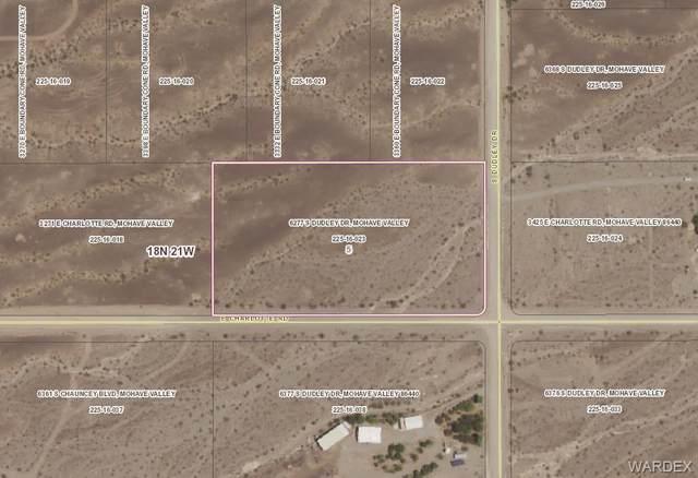 6277 S Dudley Drive, Mohave Valley, AZ 86440 (MLS #982118) :: AZ Properties Team | RE/MAX Preferred Professionals