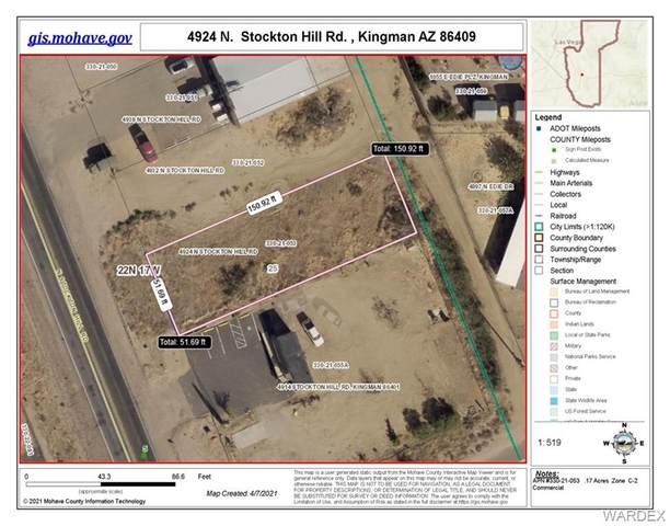4924 N Stockton Hill Road, Kingman, AZ 86409 (MLS #982139) :: The Lander Team