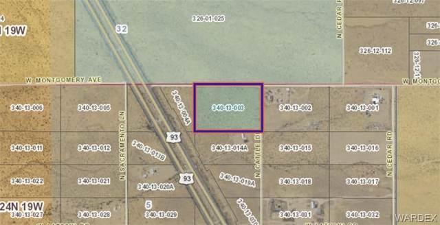 Lot 35 Montgomery Avenue, Dolan Springs, AZ 86441 (MLS #983238) :: The Lander Team