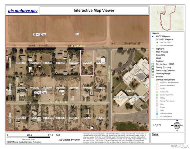2200 E Laguna Road, Mohave Valley, AZ 86440 (MLS #983241) :: The Lander Team