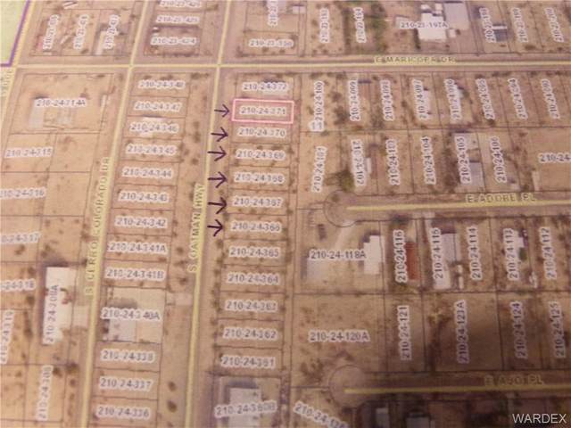 12758 S Oatman Highway, Topock/Golden Shores, AZ 86436 (MLS #983688) :: AZ Properties Team   RE/MAX Preferred Professionals