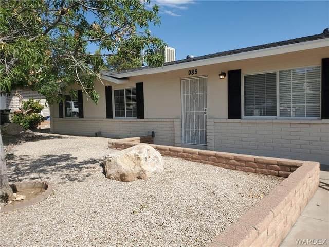 985 Gardencrest Drive, Kingman, AZ 86409 (MLS #983787) :: The Lander Team