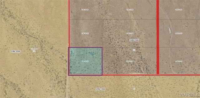 Lot 121 Amana Road, Dolan Springs, AZ 86441 (MLS #983976) :: The Lander Team