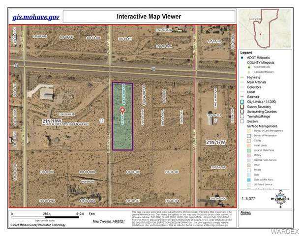 3572 Hwy 68, Golden Valley, AZ 86413 (MLS #984117) :: AZ Properties Team   RE/MAX Preferred Professionals