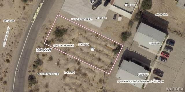 1540 Turquoise Road, Bullhead, AZ 86442 (MLS #984203) :: The Lander Team