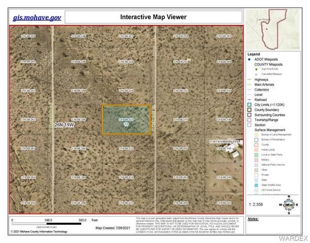 LOT 10 N Kenmore Drive, Dolan Springs, AZ 86441 (MLS #984408) :: The Lander Team