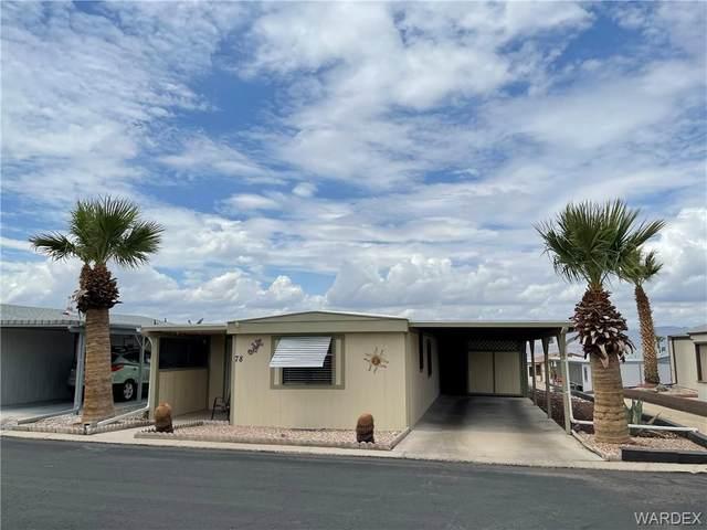 2960 Silver Creek Road No 78, Bullhead, AZ 86442 (MLS #984449) :: AZ Properties Team   RE/MAX Preferred Professionals