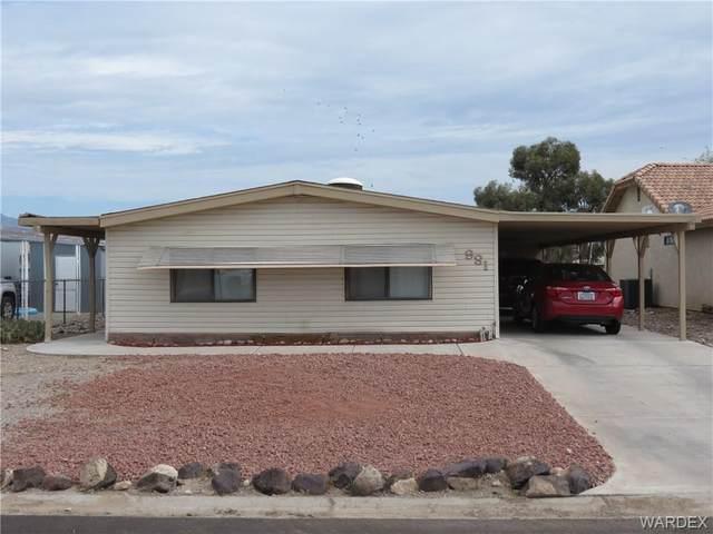981 Terrace Drive, Bullhead, AZ 86442 (MLS #984635) :: The Lander Team