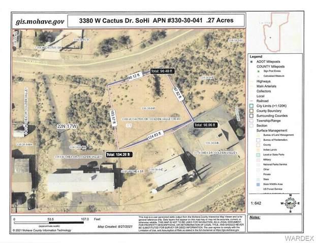 3380 W Cactus Drive, Golden Valley, AZ 86413 (MLS #985596) :: The Lander Team
