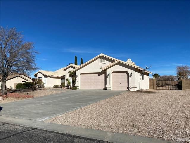 2860 Mountain Trail Road, Kingman, AZ 86401 (MLS #985996) :: The Lander Team