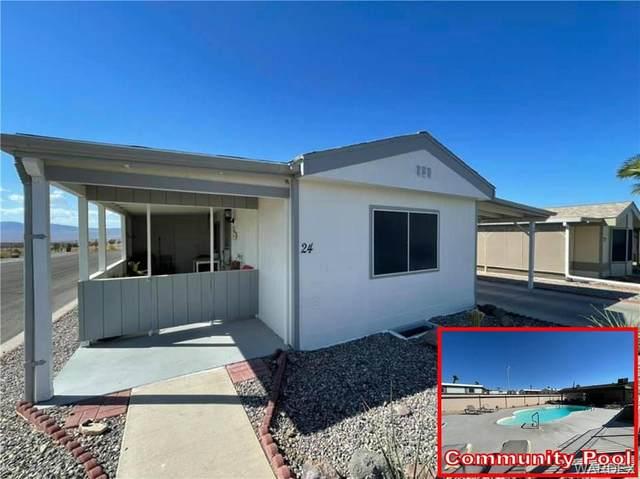 2960 Silver Creek Road #24, Bullhead, AZ 86442 (MLS #986547) :: The Lander Team