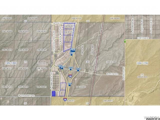 000 S Frontage& Old Trails Road, Yucca, AZ 86438 (MLS #909078) :: The Lander Team