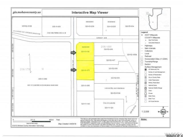 TBD Airway Avenue, Kingman, AZ 86409 (MLS #931439) :: The Lander Team