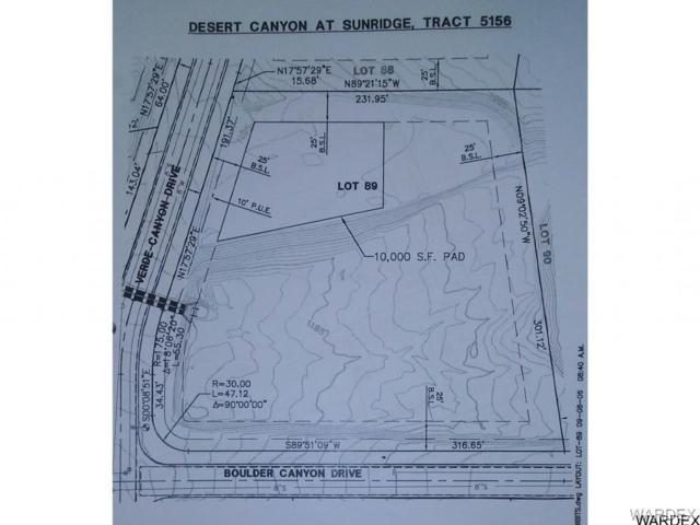210 Verde Canyon Drive, Bullhead, AZ 86429 (MLS #935394) :: The Lander Team