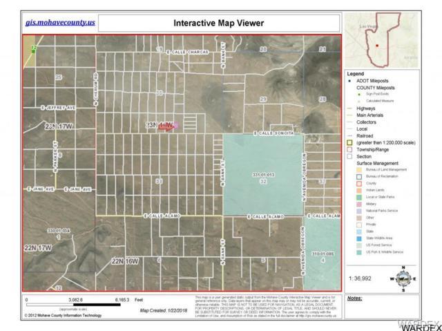Lot 329 Calle Patilla, Kingman, AZ 86409 (MLS #936946) :: The Lander Team