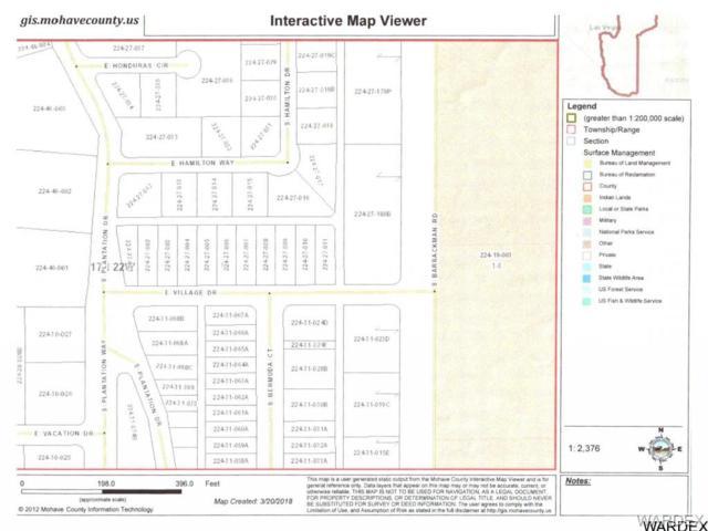 1445 E Village Drive, Mohave Valley, AZ 86440 (MLS #938804) :: The Lander Team