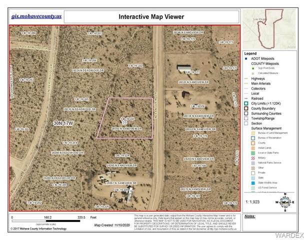 28305 N Sandview Drive, Meadview, AZ 86444 (MLS #939652) :: The Lander Team