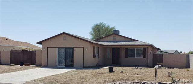 1672 E Aztec Road, Fort Mohave, AZ 86426 (MLS #957319) :: The Lander Team