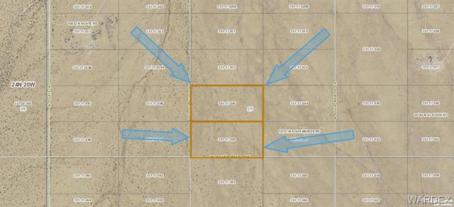 Lot 59 Agua Dulce Drive, Dolan Springs, AZ 86441 (MLS #958416) :: The Lander Team