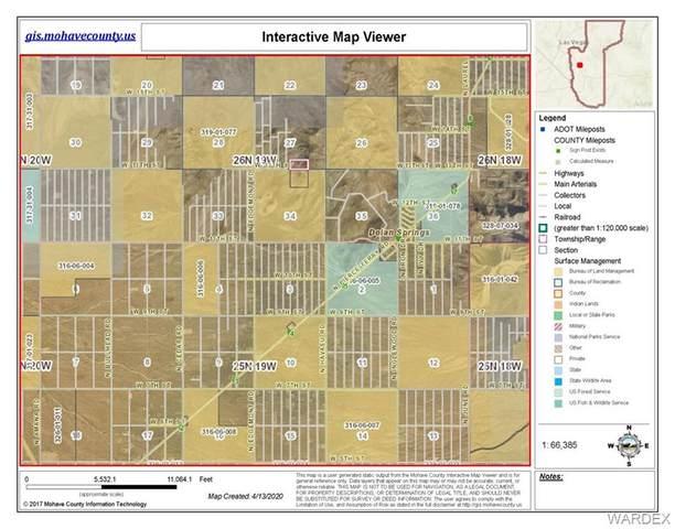0 13th 1st Street Past Flores 20 Acres, Dolan Springs, AZ 86441 (MLS #960445) :: The Lander Team