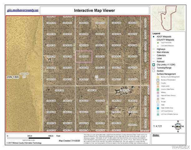 0 Olive Drive, Dolan Springs, AZ 86441 (MLS #970130) :: The Lander Team