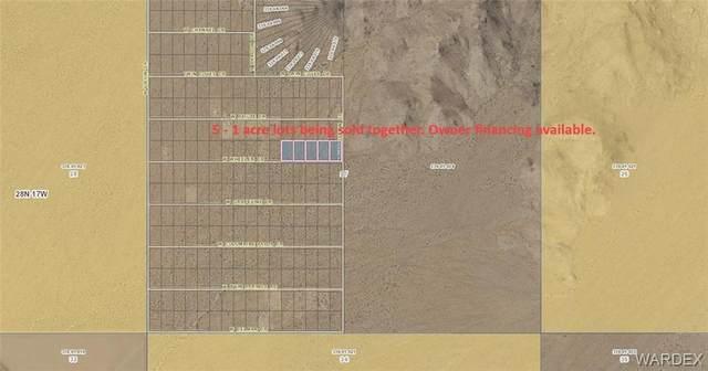 5 lots W Wheeler Drive, Meadview, AZ 86444 (MLS #975946) :: The Lander Team