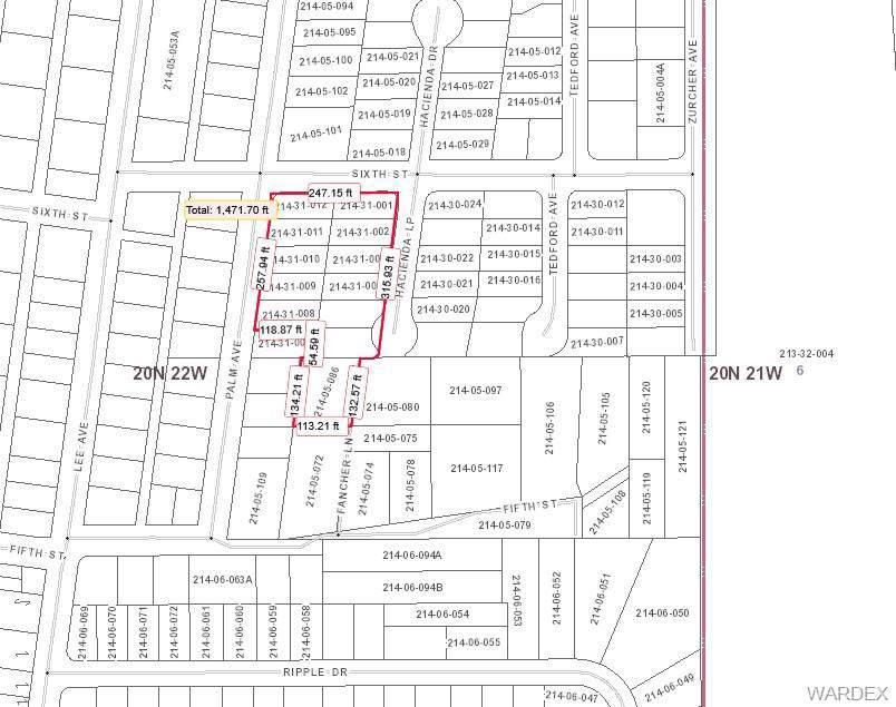 182-202 Palm Avenue, Bullhead, AZ 86429 (MLS #950385) :: The Lander Team