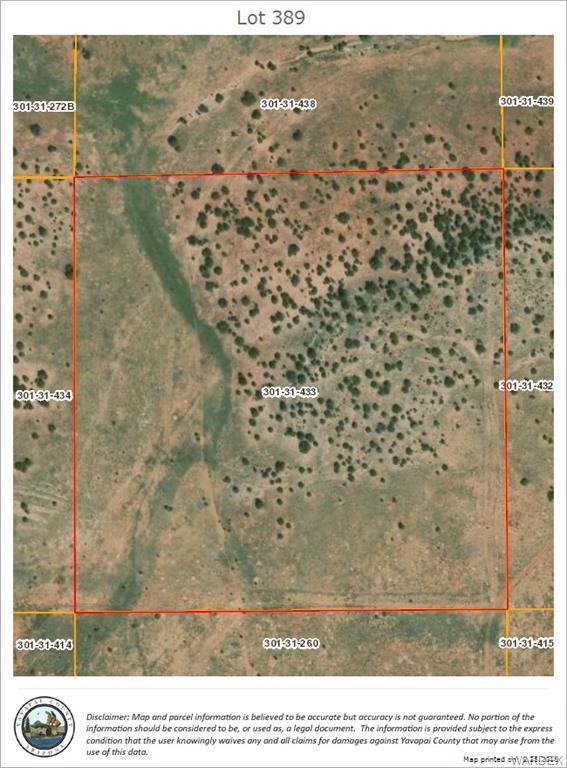 Lot 389 Antelope Valley Ranches, Seligman, AZ 86337 (MLS #952521) :: The Lander Team