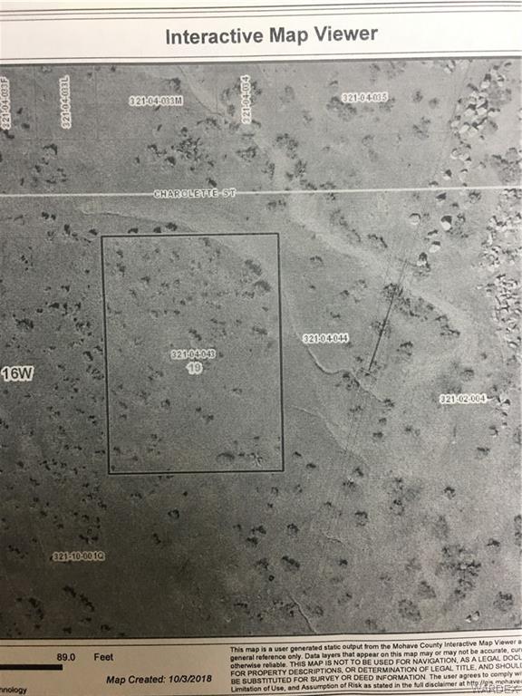TBD Charolette Street, Kingman, AZ 86401 (MLS #952777) :: The Lander Team
