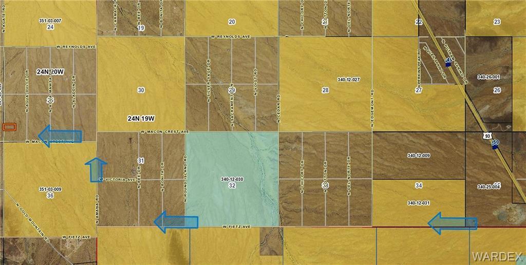 GTAC #5 S-25 LOT 105 N Agate Road, Dolan Springs, AZ 86441 (MLS #954003) ::  The Lander Team