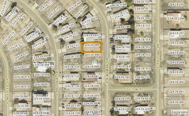 9845 S S Kingman Dr Drive, Mohave Valley, AZ 86440 (MLS #955933) :: The Lander Team