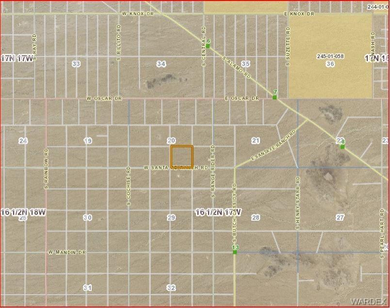 3340 Santa Fe Ranch Road, Yucca, AZ 86438 (MLS #956504) :: The Lander on