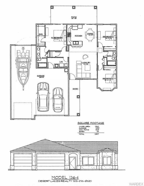 1869 E Winterhaven Drive, Mohave Valley, AZ 86440 (MLS #956597) :: The Lander Team