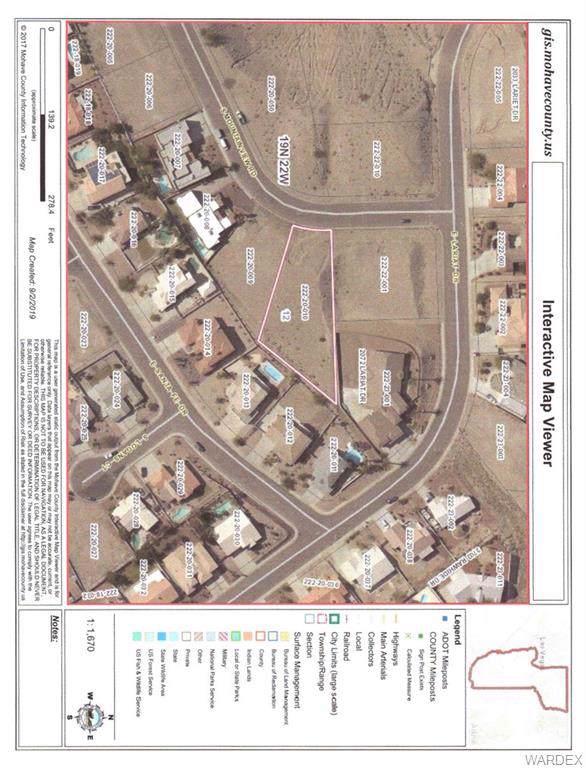 3732 Mountain View Road, Bullhead, AZ 86442 (MLS #960983) :: The Lander Team