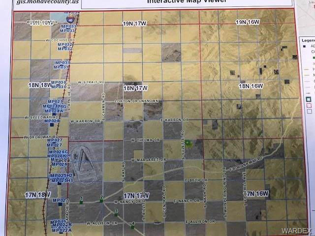 11591 S Sherry Road, Golden Valley, AZ 86413 (MLS #962567) :: The Lander Team