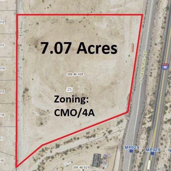 028 S Frontage Road, Yucca, AZ 86438 (MLS #963246) :: AZ Properties Team | RE/MAX Preferred Professionals