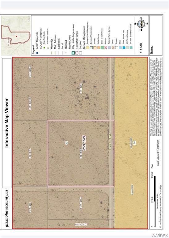 Lot 232 Mikes Blvd, Kingman, AZ 86401 (MLS #963849) :: The Lander Team