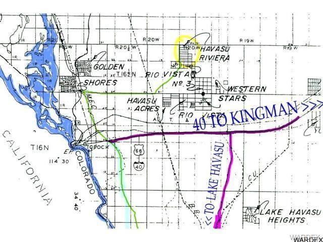 17 Acres Havasu Riviera Lots Section, Topock/Golden Shores, AZ 86436 (MLS #966774) :: The Lander Team
