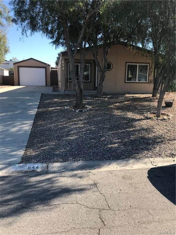 644 Palo Verde Drive, Bullhead, AZ 86442 (MLS #977884) :: AZ Properties Team   RE/MAX Preferred Professionals