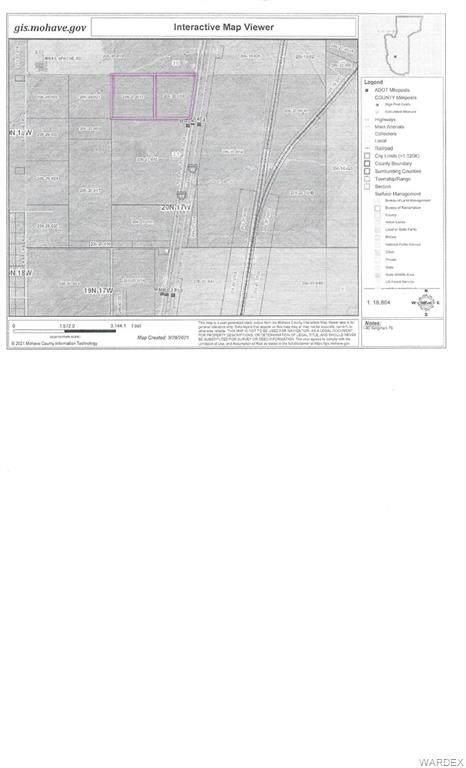0 I-40 Road, Kingman, AZ 86401 (MLS #979819) :: AZ Properties Team | RE/MAX Preferred Professionals