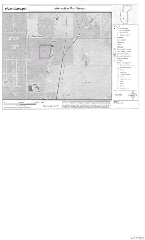 0 I-40, Kingman, AZ 86401 (MLS #979821) :: AZ Properties Team | RE/MAX Preferred Professionals
