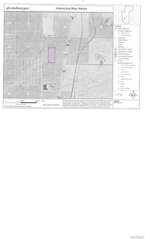 0 I-40, Kingman, AZ 86401 (MLS #979837) :: AZ Properties Team | RE/MAX Preferred Professionals