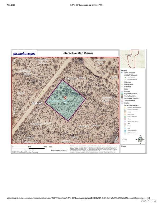 9464 N Arrow Avenue, Kingman, AZ 86401 (MLS #984388) :: AZ Properties Team | RE/MAX Preferred Professionals