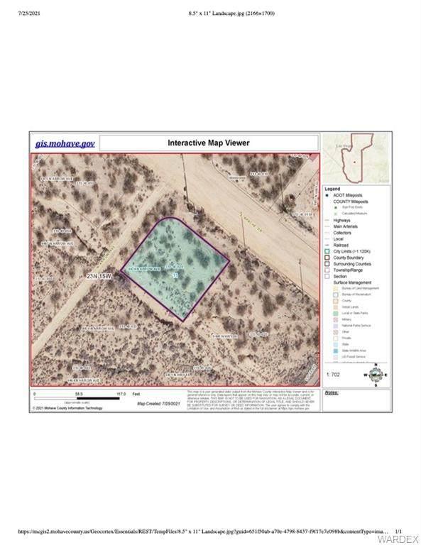 9474 N Arrow Avenue, Kingman, AZ 86401 (MLS #984390) :: AZ Properties Team | RE/MAX Preferred Professionals