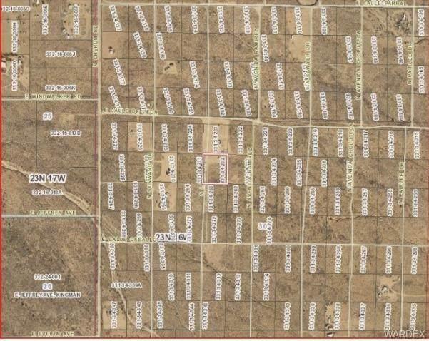 Lot 232 N Lola Drive, Kingman, AZ 86409 (MLS #984432) :: The Lander Team