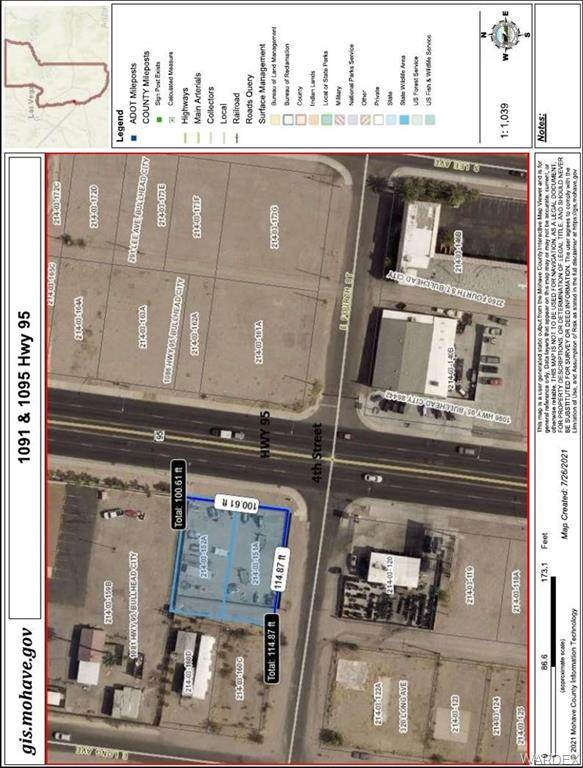 1095 Highway 95, Bullhead, AZ 86429 (MLS #984445) :: The Lander Team