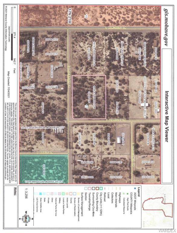 10105 S. Stardust Ln, Mohave Valley, AZ 86440 (MLS #984538) :: The Lander Team