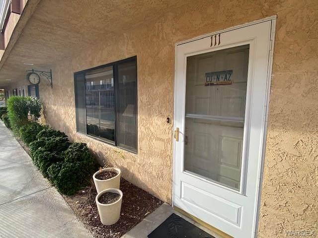 454 Riverfront Drive #111, Bullhead, AZ 86442 (MLS #986577) :: The Lander Team